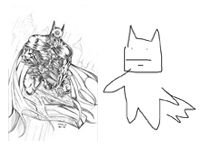 Close Eyes, Draw a Batman