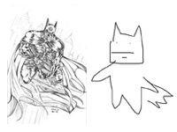 Close Eyes, Draw a Batman