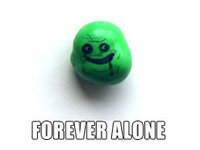 Caption Contest: What Happened to This Forever Alone M&M?