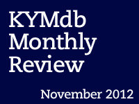 Monthly Review: November 2012