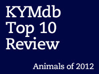 Top Ten Animals of 2012