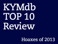 Top Ten Hoaxes of 2013