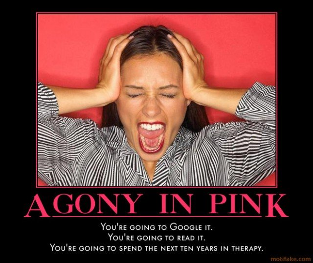 Agony In Pink Know Your Meme