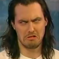 Andrew W.K. makes faces at Fox News