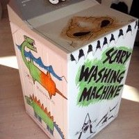 Scary Washing Machine