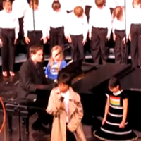 Kids Choir Rick Roll
