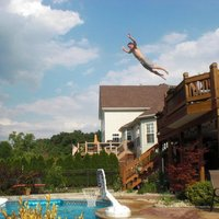 Flying Pool Guy