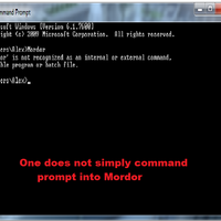 Command Prompt Mordor