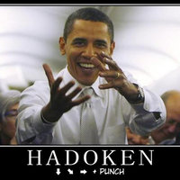 Street Fighter select character: Obama