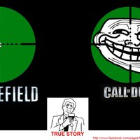 Battlefield Call of Duty Comparison
