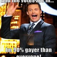 Ryan Seacrest's Percentages #2
