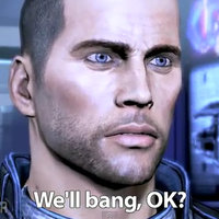 We'll bang, OK?