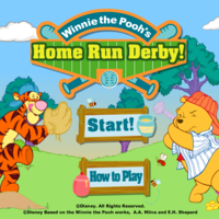 Winnie The Pooh's Home Run Derby