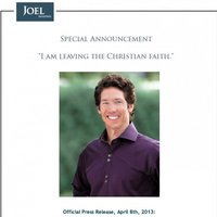 Joel Osteen Resignation Hoax