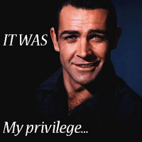 It Was My Privilege