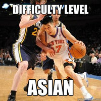 Difficulty Level: Asian