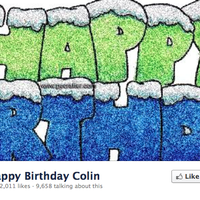 Happy Birthday Colin
