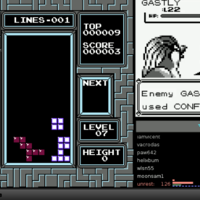 Twitch Plays Pokemon Plays Tetris