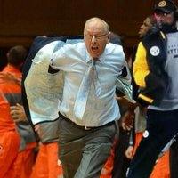 Jim Boeheim's Jacket Removal