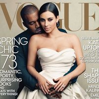 Kanye West and Kim Kardashian Vogue Cover