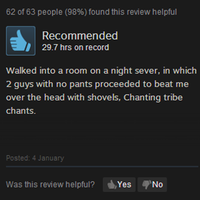 Steam Joke Reviews