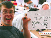 "Adam Holland's ""Go Titans"" Photo"