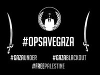 #OpSaveGaza Targets the Israeli Government
