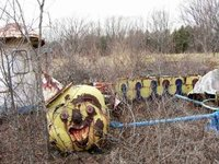 Abandoned Clown Train Remembers You
