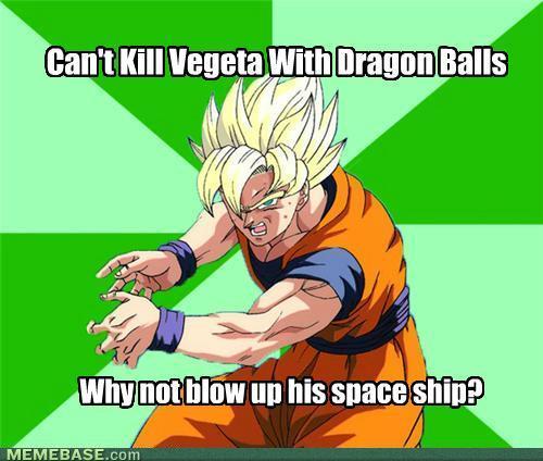 Dragon Ball Z Funny Meme : Goku meme know your