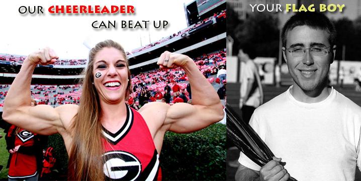   Your Boy Meme Flag Hulkish vs Cheerleader Know
