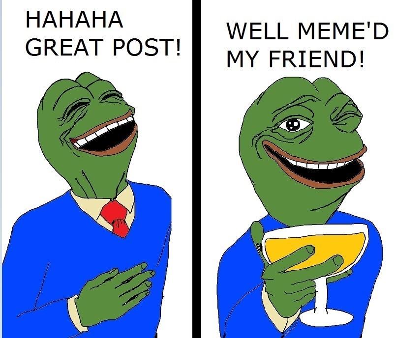 Team Application: Boy's Club Pepe_meme'd