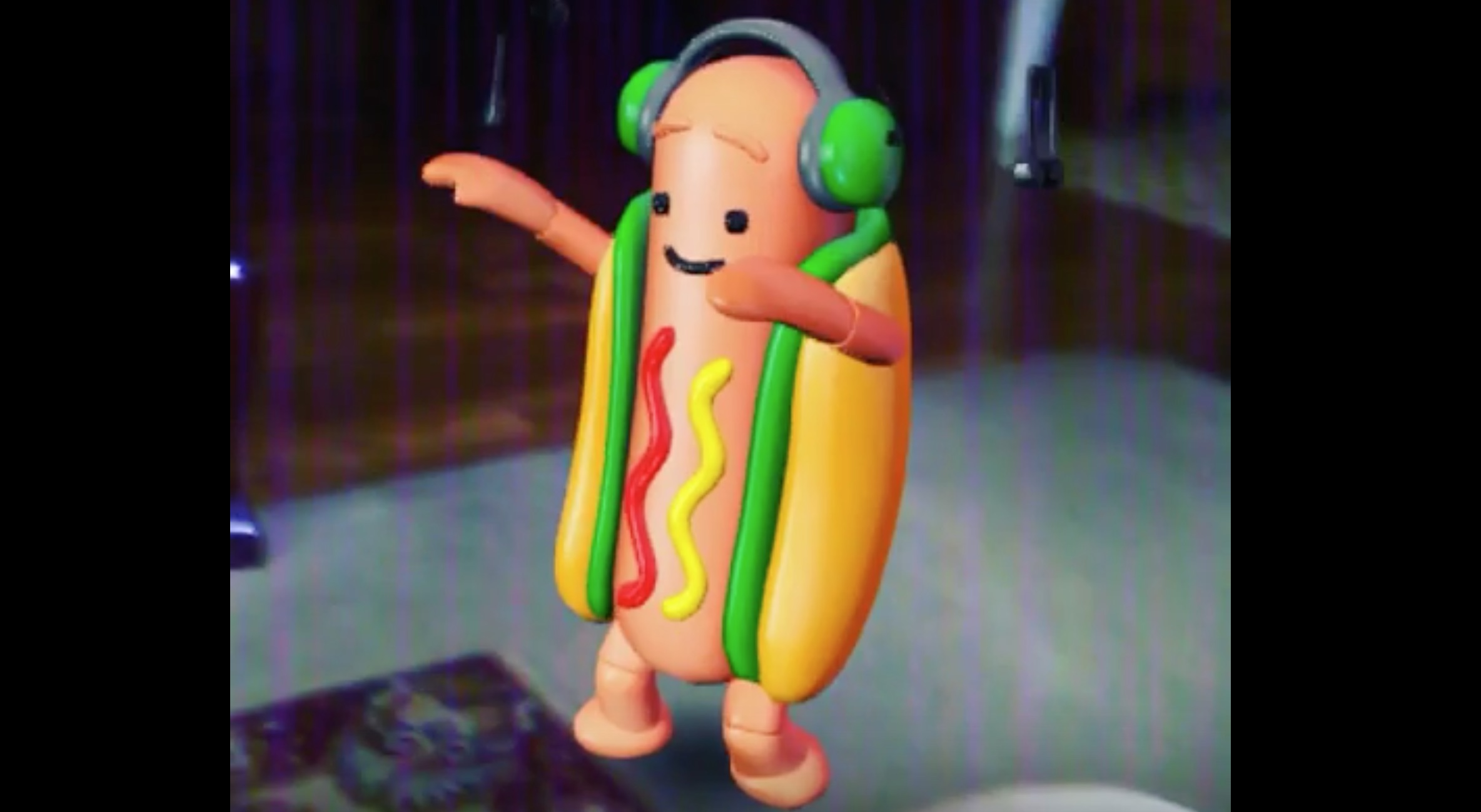 Image result for dancing hotdog snapchat