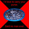 Carry my purse?