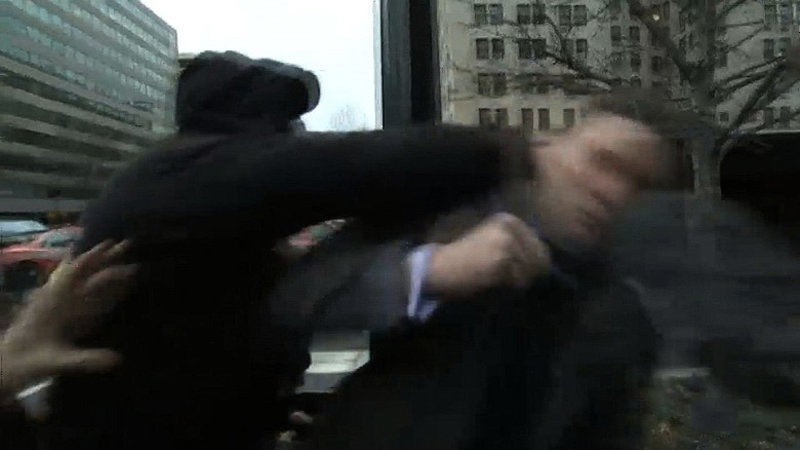 Richard Spencer Sucker Punched in the Face
