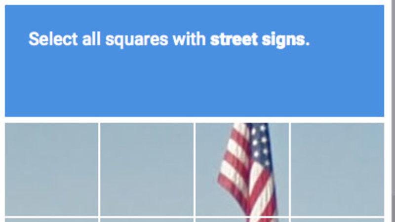 """Select All Squares"" CAPTCHA"