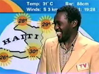Who is Arthur the Haitian Weatherman?