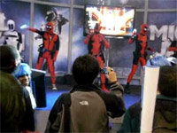 Status: Deadpool (Dancing)