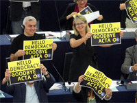 ACTA Rejected by European Parliament