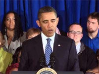 Obama Sings One Direction's Debut Song