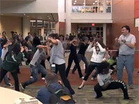 Flash Mob Intruder
