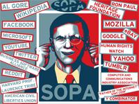 PIPA & SOPA Protests