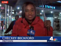 """Jay-Z's Sister"" Videobombs the News"