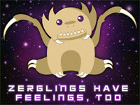 "PETA Says ""Zerglings Have Feelings Too"""