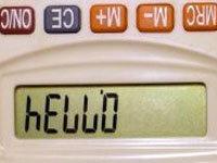 Calculator Spelling