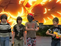 Epic Water Gun Fight Music Video
