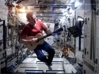 Space Oddity in the ISS