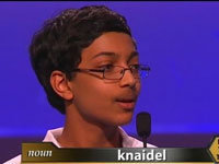 Kid Reacts to Winning a Spelling Bee