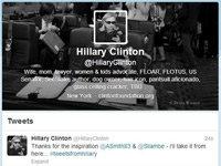 Hillary Clinton Joins Twitter with a Bang