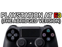 Sony PS4 at E3 2013: Abridged Edition