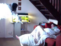 Girlfriend Wakes Up to a Ghost